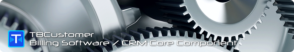 Telecom billing software CRM component