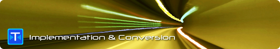 Telecom data conversion services
