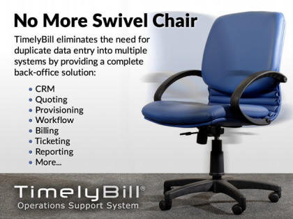 No More Swivel Chair